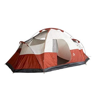 coleman 8-person tent for camping for cold weather